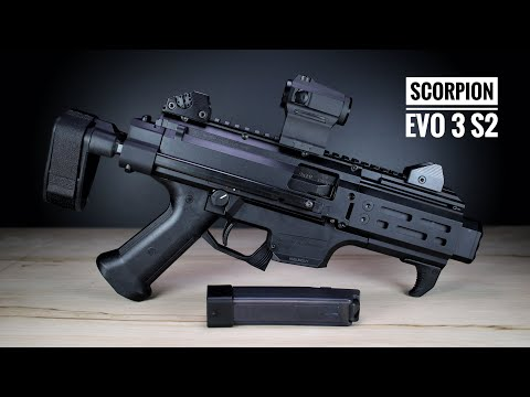CZ Scorpion EVO 3 S2 Micro - Discrete But Quirky