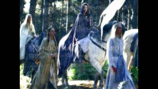 The Passing of the Elves (A Elbereth Gilthoniel) - 2 Version-Mix  + Sindarin and English Lyrics