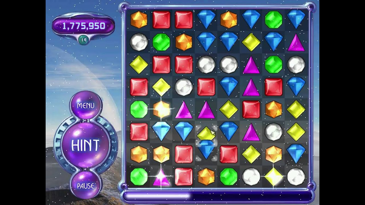 Bejeweled 2 Deluxe Hyper Mode 9 688 750 Points Youtube