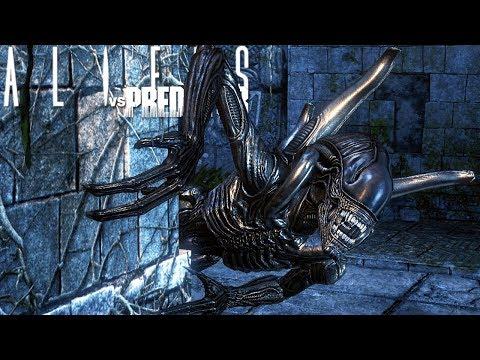 Aliens vs Predator - Não Adianta FUGIR, Saindo Dos Esgotos!   Alien Campanha (#2) (PT-BR)