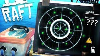 Raft - The Secret Island Is Teleporting?! - We Must Find Utopia! - Raft Gameplay Ending