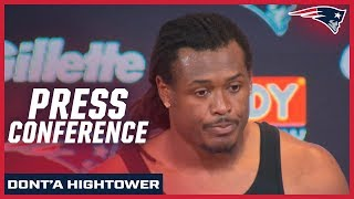 """Dont'a Hightower on Boogeyman nickname: """"It's fun for us"""""""