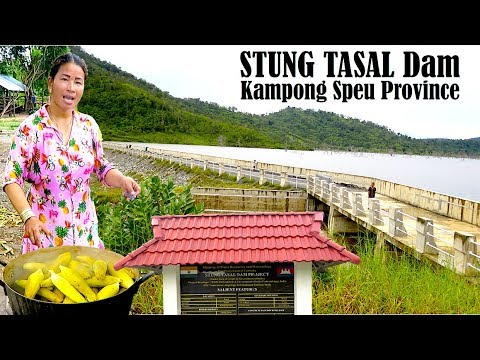 Visit Stung TASAL Dam or Indian Dam Tourism Site at Aoral District in Kampong Speu Province Cambodia