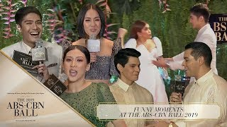 Funny Moments at The ABS-CBN Ball 2019