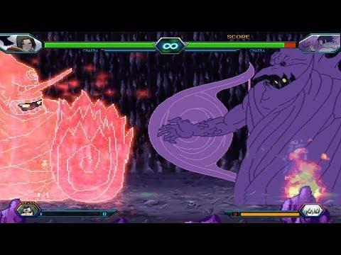 Sasuke Vs Reanimated Itachi - Bleach Vs Naruto 3.3 (Modded)