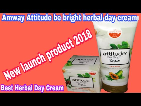 letest-new-atitude-be-bright-herbal-day-cream-demo|amway-attitude-be-bright-herbal-day-cream-review