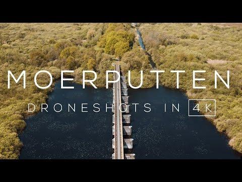 Oude spoorbrug Moerputten (Den Bosch) in 4K | Drone Video