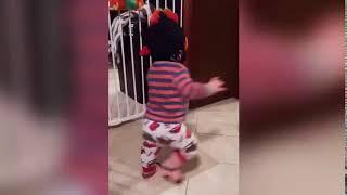 Funny baby shocks a wall / FUNNIEST BABY FAILS!