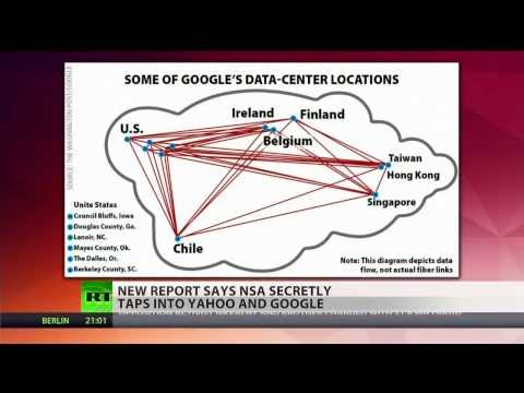 Latest Snowden leak: NSA hacked into Google, Yahoo data streams