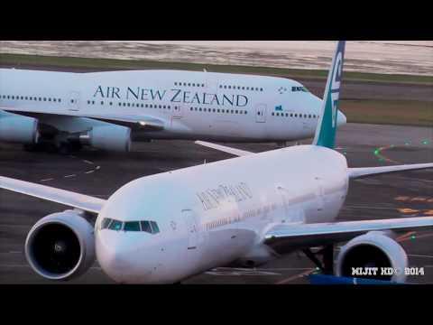 Final Air New Zealand 747 [ZK-NBV] Flight Landing at Auckland Airport as NZ7