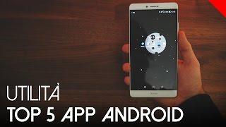 Top 5 App Android Utili - Gennaio | 4K ITA UHD