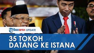 Daftar 35 Tokoh yang Dipanggil Jokowi ke Istana, Calon Menteri Jokowi dan Tugas Lain