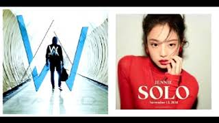 Alan Walker Vs Jennie - Faded Solo (Mashup)