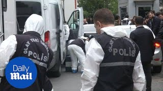 Jamal Khashoggi investigators enter Istanbul residence