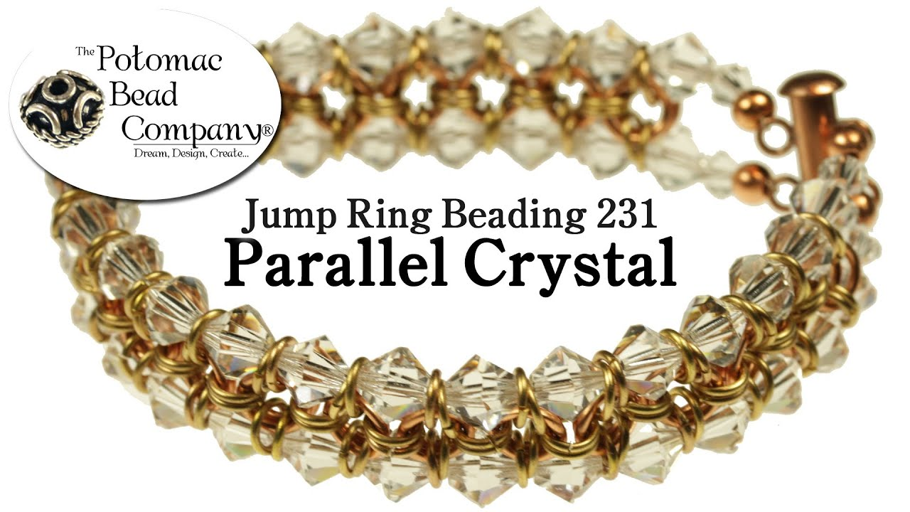 Make a \'Parallel Crystal\' Bracelet - YouTube