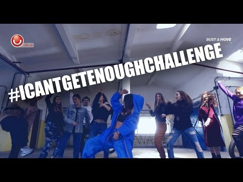 #ICantGetEnoughChallenge | Dance Video | Bust A Move - ep. 23 @Utv 2019