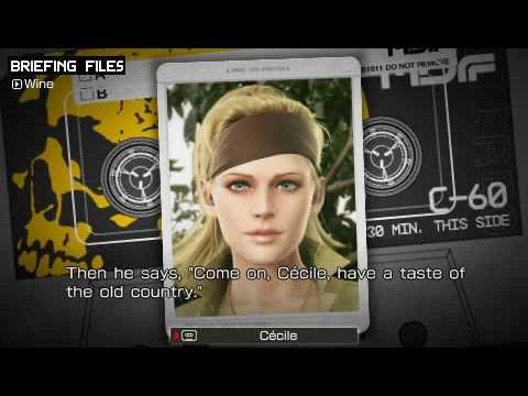 Metal Gear Solid: Peace Walker - Drunken Cecile
