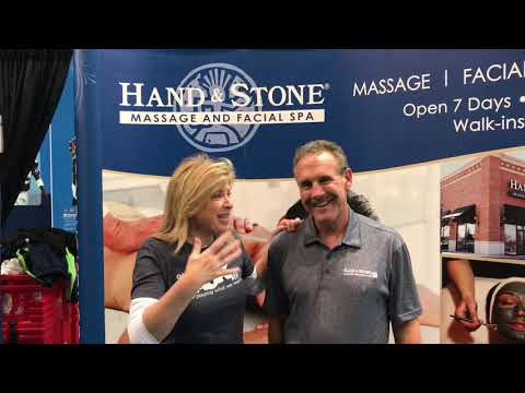 Lee Callahan - Hand and Stone at the Seattle Auto Show