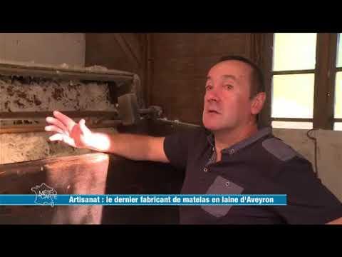 Le Dernier Fabricant De Matelas De Laine En Aveyron - Emission De France 3 Météo à La Carte
