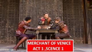 Merchant Of Venice - Act 1,Scene 1 (Part 1)