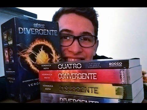box-série-divergente-/-4-livros---divergente,-insurgente,-convergente-e-quatro!