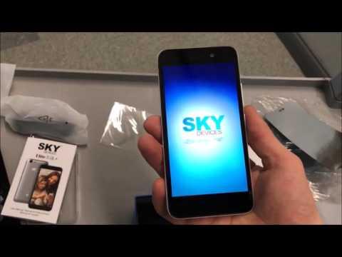 Brand New Phone Unboxing!!! SKY Elite...