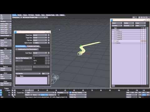 LightWave 11.6 - Spline Control