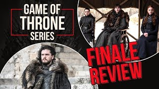 Game of Thrones Season Finale Review and Reaction - Bran Stark, Jon Snow | GOT Finale
