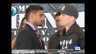 Dunya News-Pakistani Born British Boxer Amir Khan Back in Action