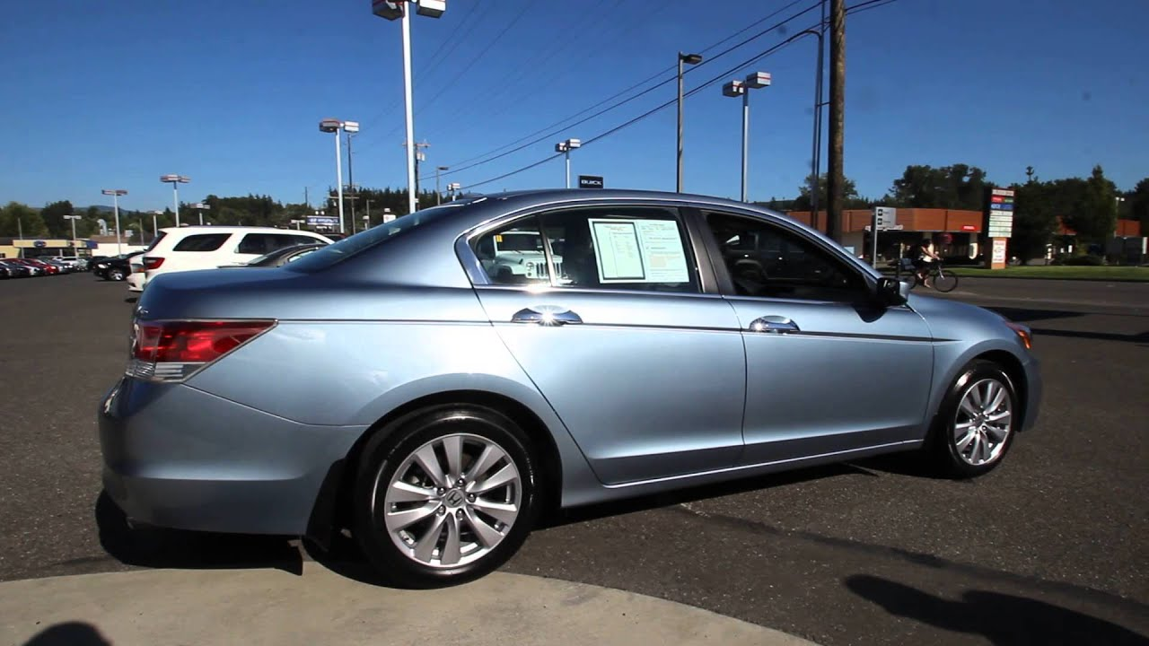 2012 Honda Accord Ex L Sky Blue Ca006932 V Mt Vernon