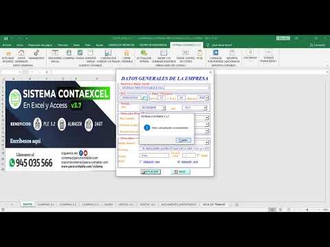 32. CIERRE CONTABLE - CONTAEXCEL V 3.7