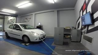 Renault Clio 3 1.5 dci 75cv Reprogrammation Moteur @ 107cv Digiservices Paris 77 Dyno