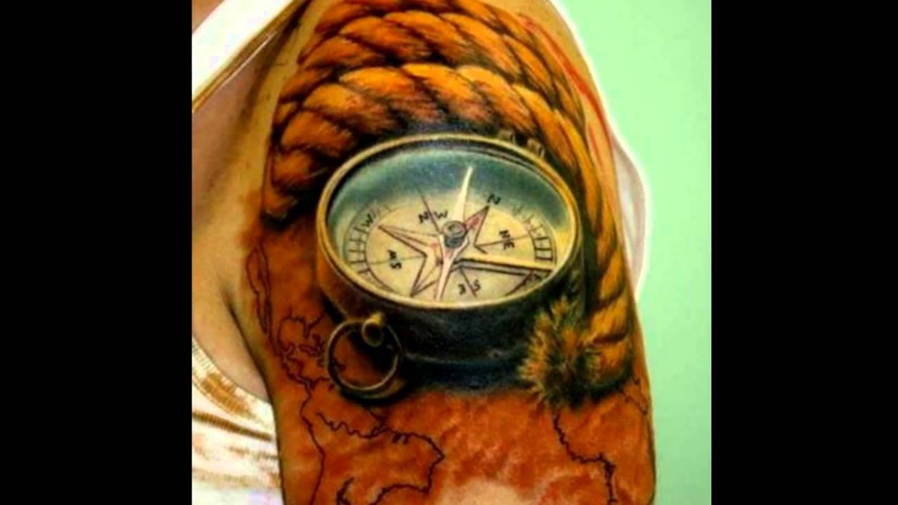 Tatuajes De Brujulas Youtube