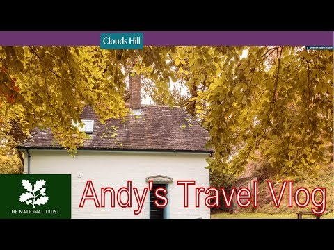 Andy's National Trust Travel Blogs: Clouds Hill, home of Lawrence of Arabia