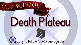 Death Plateau - OSRS 2007 - Easy Old School Runescape Quest Guide