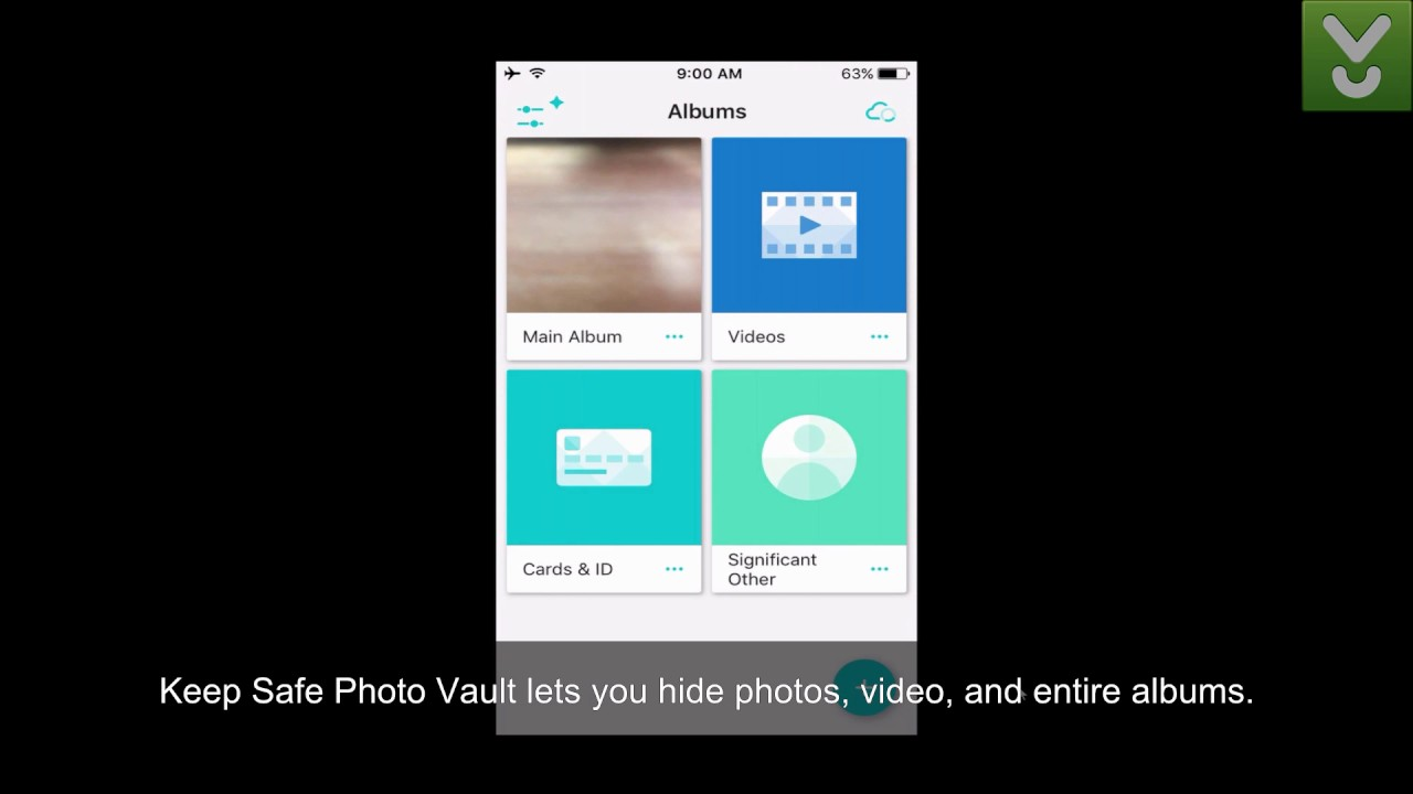 Keep Safe Photo Vault - Keep your private photos and video safe - Download  Video Previews