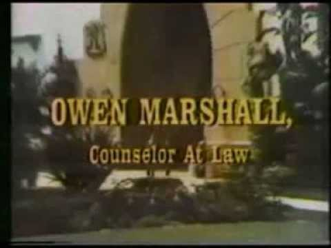 Owen Marshall, Counselor At Law theme