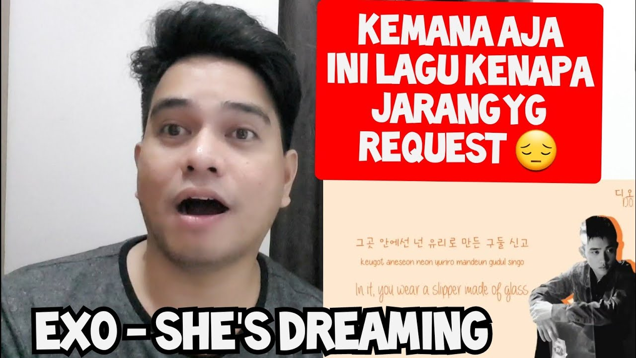 KEMANA AJA LAGU INI | EXO - SHE'S DREAMING (Reaction)