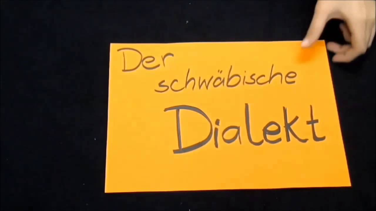 Berühmt Lernfilm Dialekte in Deutschland - YouTube &XH_36