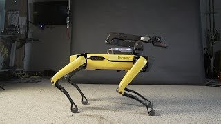 UpTown Spot - BostonDynamics Dancing Robot