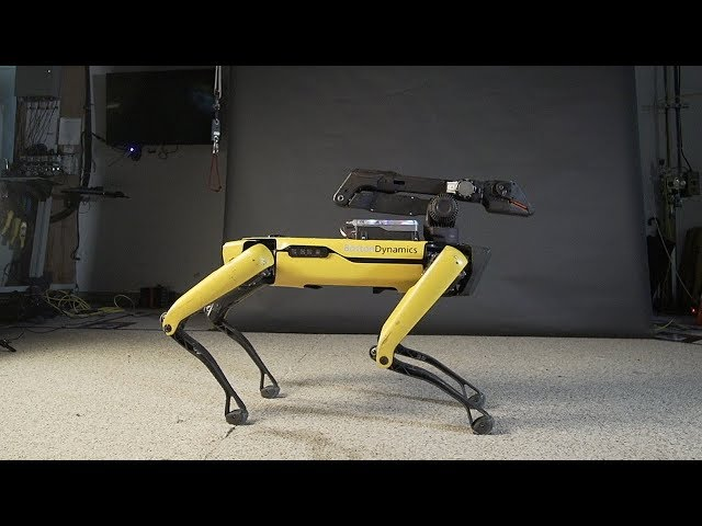 Watch New Video From Boston Dynamics Shows Robot Dancing To Bruno