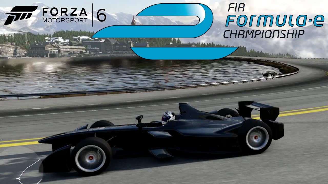 Forza 6 Formula E Electric Indy Car 1080p 60fps