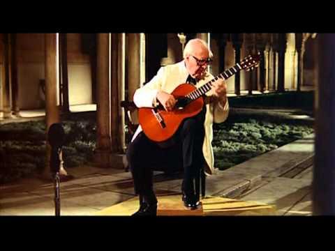 Segovia Plays Gavotte (Bach)