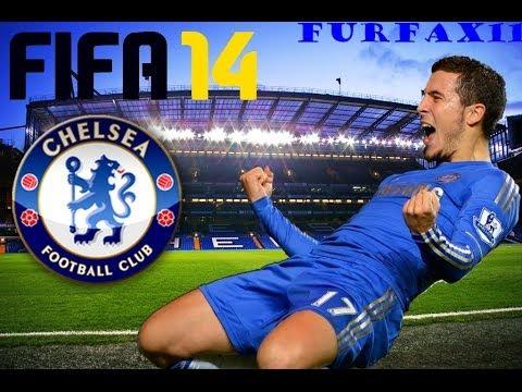 Fifa 14 - Eden Hazard goal! | Chelsea FC - PSG | HD - YouTube