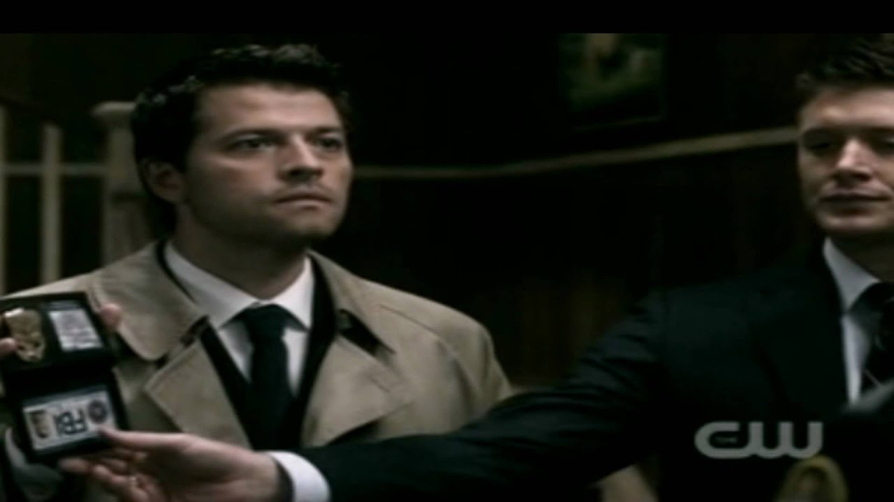 Supernatural:Dean And Cass Are FBI Agent's (German-sub) - YouTube