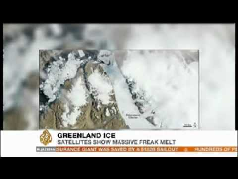 97 Percent of Greenland's Ice Melts in Just 4 Days