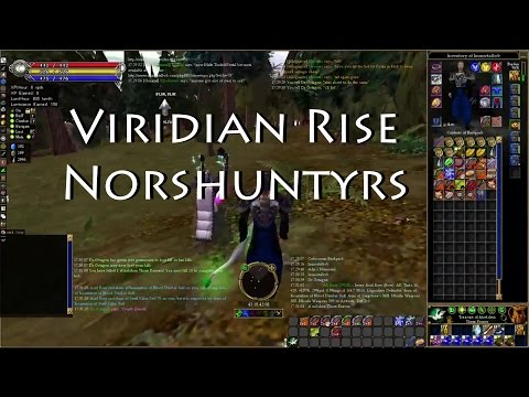 Asheron's Call Gameplay Ep. 04: Viridian Rise full run and 2 Norshuntyrs duo'd!