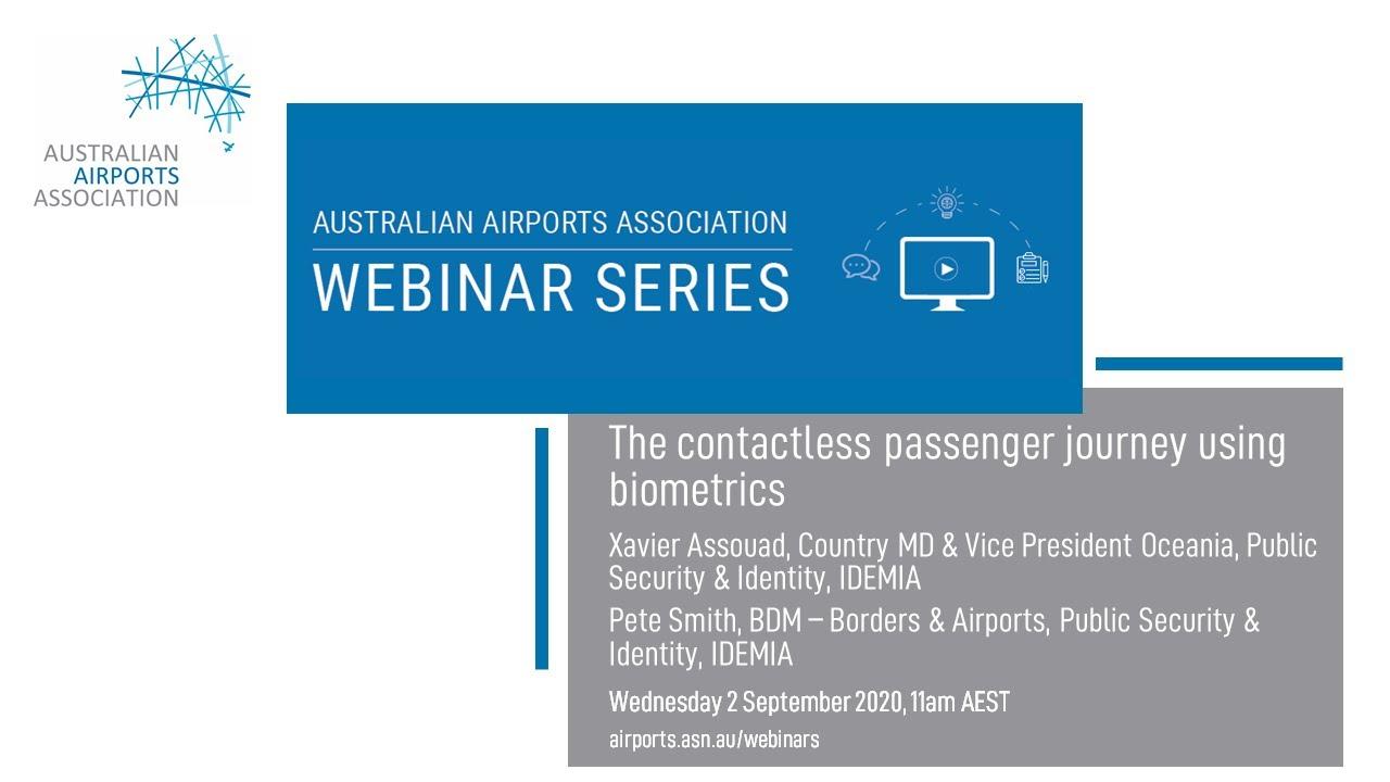 Download The contactless passenger journey using biometrics
