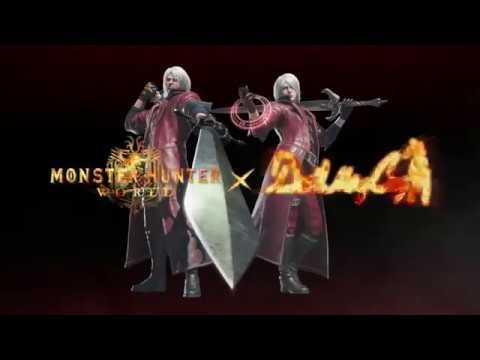 Devil May Cry - Evento de colaboración con Monster Hunter World. thumbnail