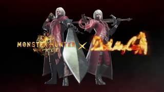 Devil May Cry - Evento de colaboración con Monster Hunter World.